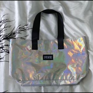 PINK by Victoria's Secret Iridescent Tote